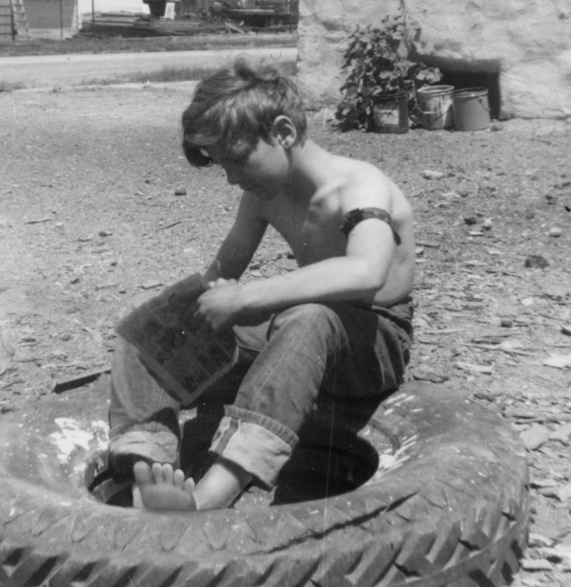Barefoot Boys - A Poem