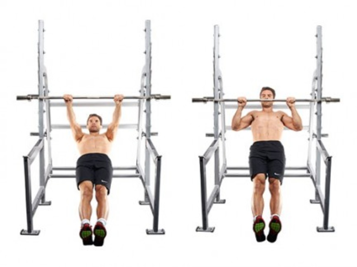 Inverted Rows To Build Big Huge Back Muscles