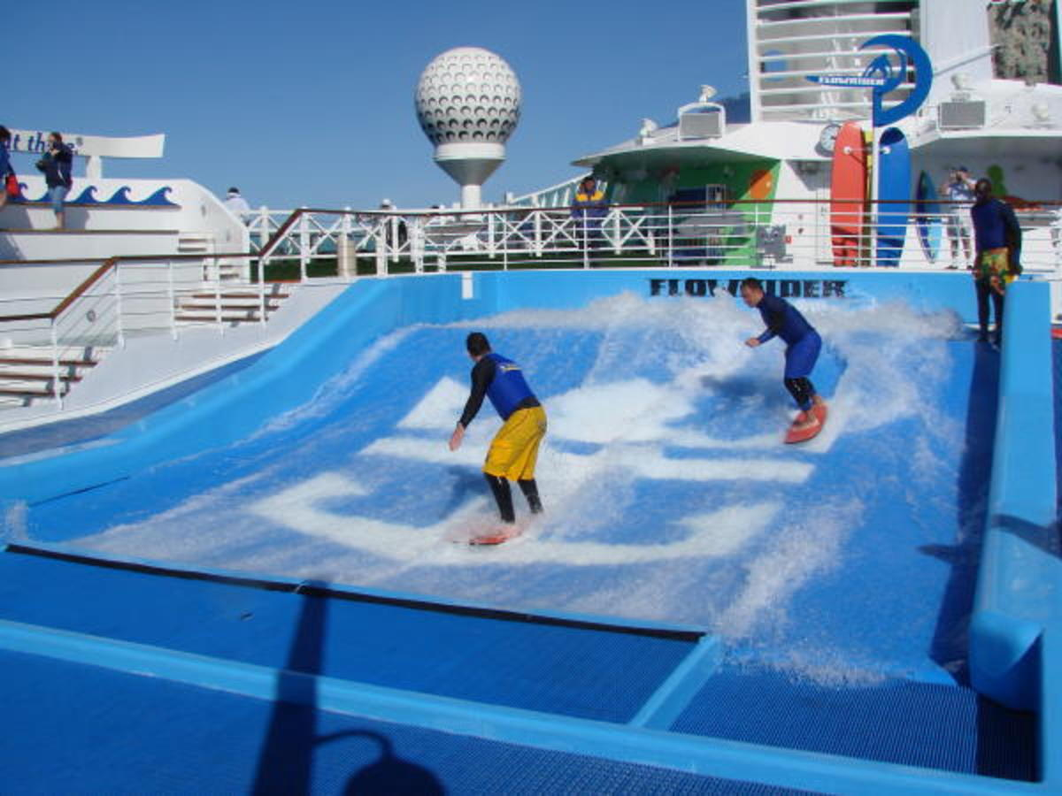 All the fun on cruise ships if worth working for.