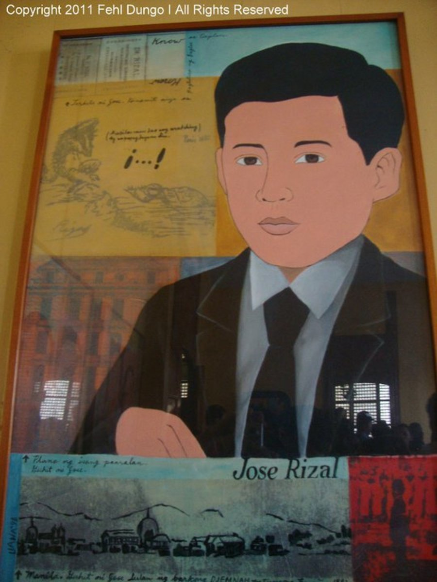 Some artistic creations were displayed on every wall of the house. Each one contains some amazing facts about Jose Rizal and his life.