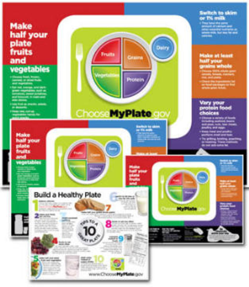 Portion Control Poster