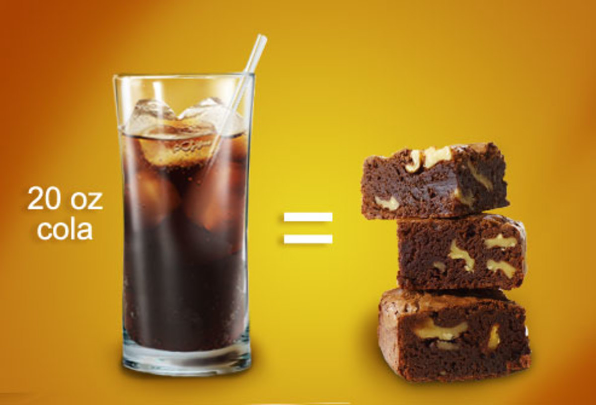 Soda Pop Equivalent in Calories to Brownies