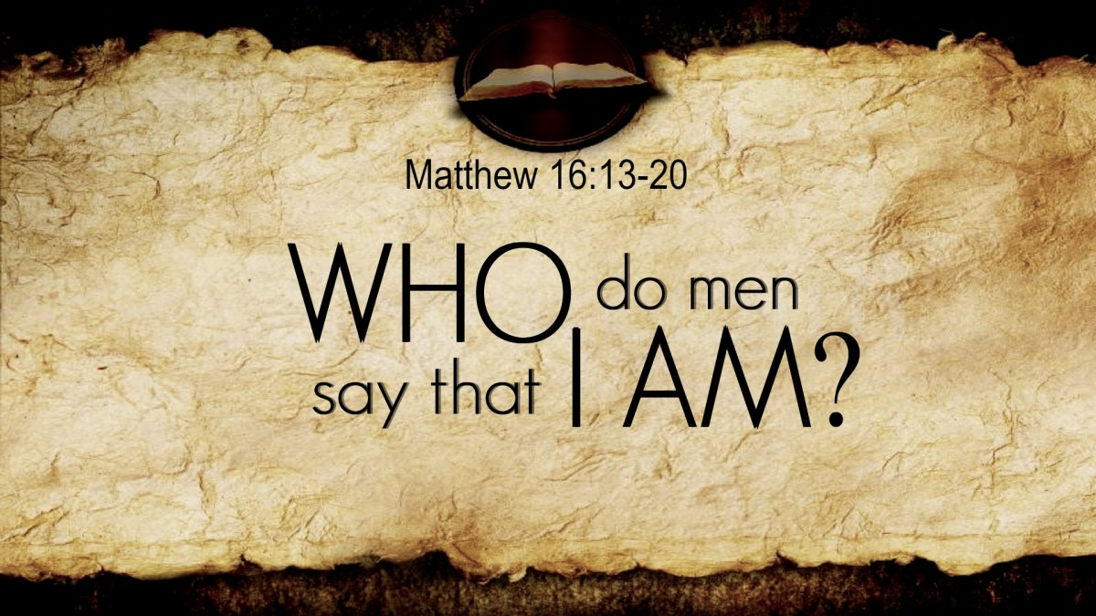Jesus asked his disciples who men said he was.
