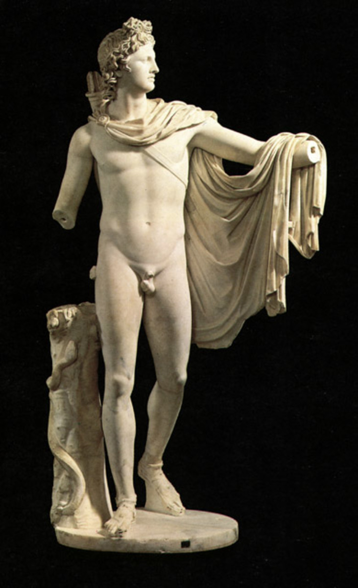 What can we learn about the God Apollo through Greek Art