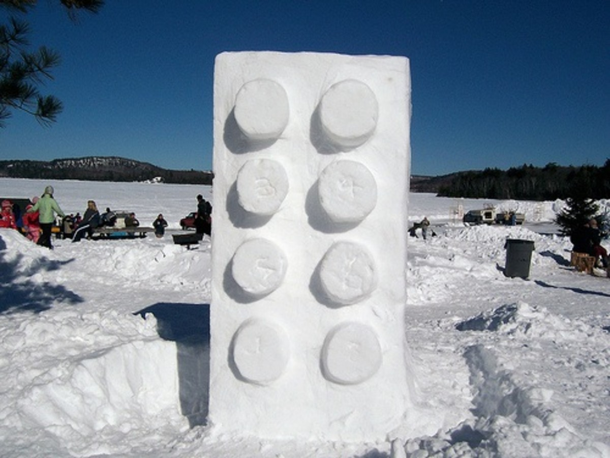 Easy Snow Sculpture Ideas & Designs - How To Create A Basic Snow Sculpture