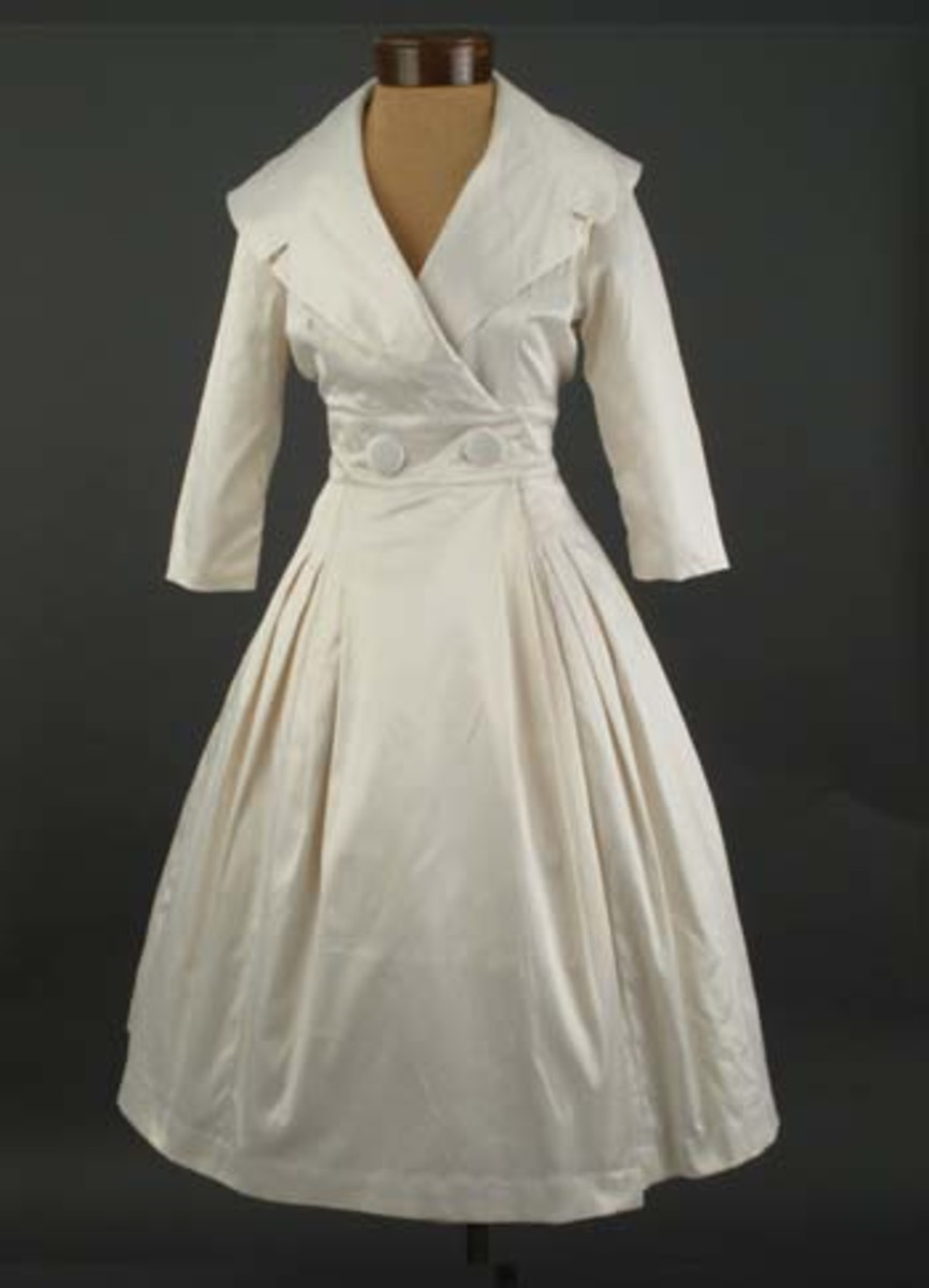 Stunning courtney coat dress from trashy diva clothing for 50s inspired wedding dress