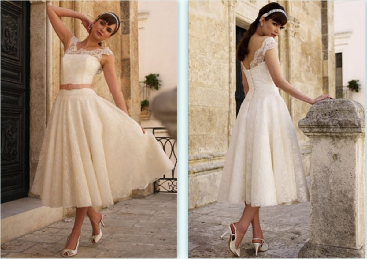 Rock the Frock With 50s Style Wedding Dresses  hubpages