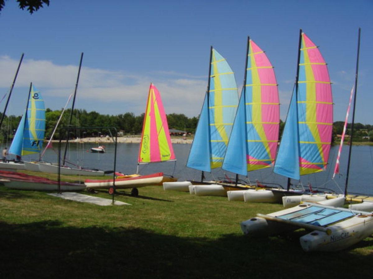 Videix lake and beach has four restaurants