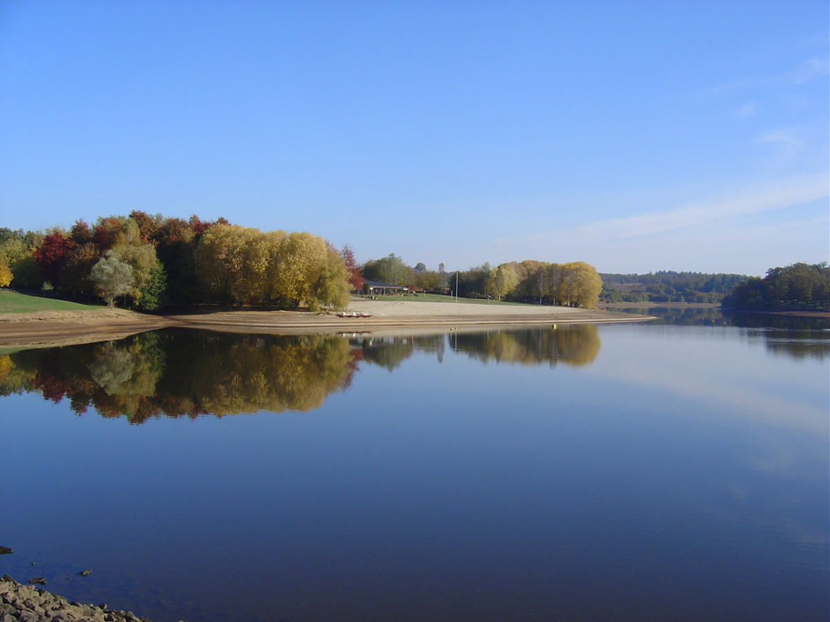 Videix, A Lake Side Village in South West  France