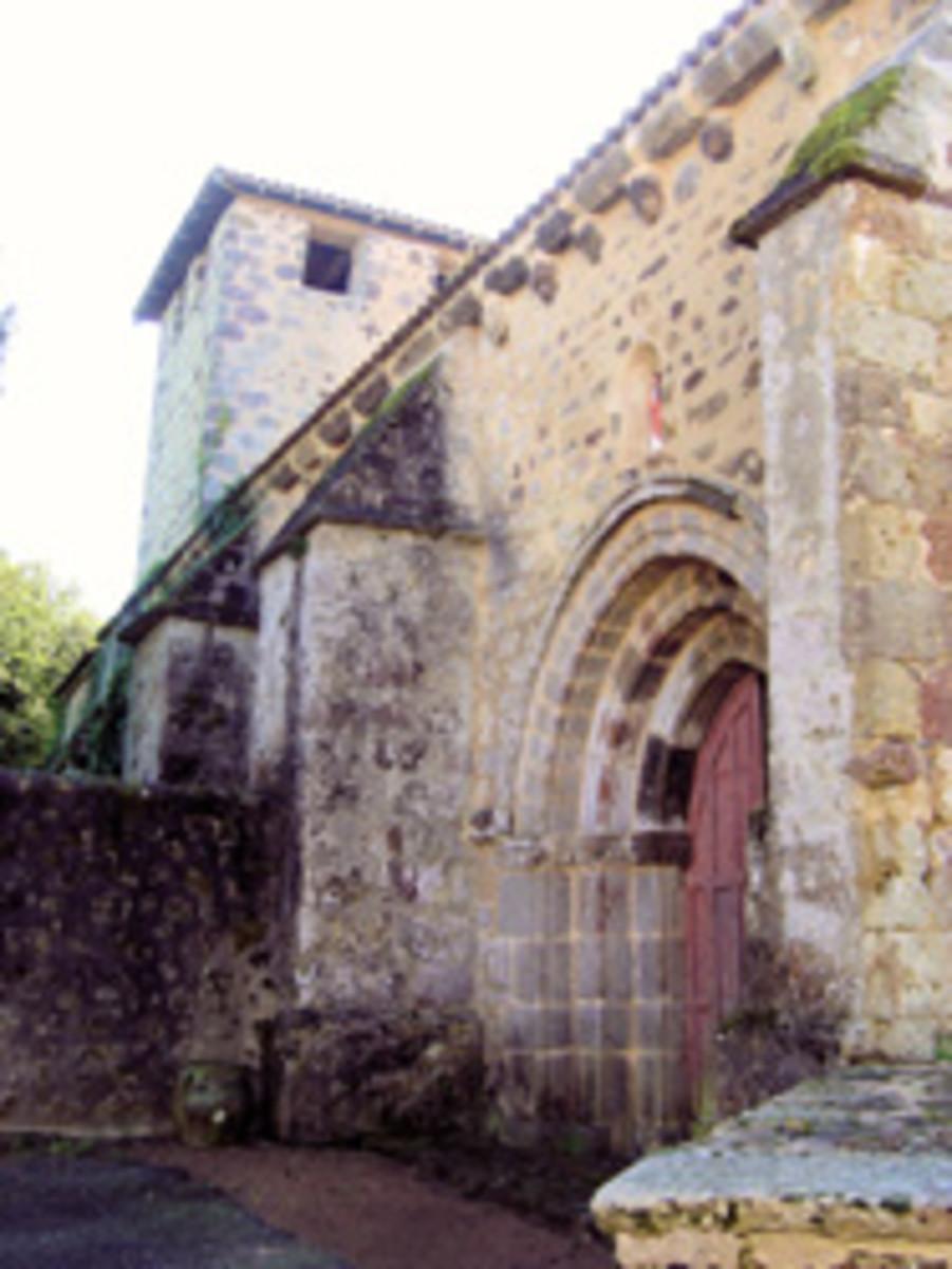 Church Videix,  Limousin