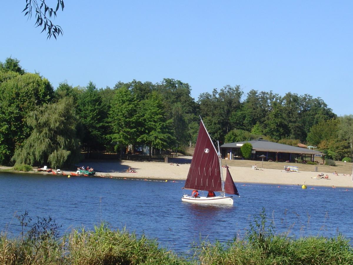 Videix beach, Limousin