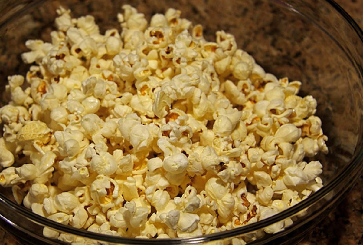 Food With Antioxidants:  Popcorn