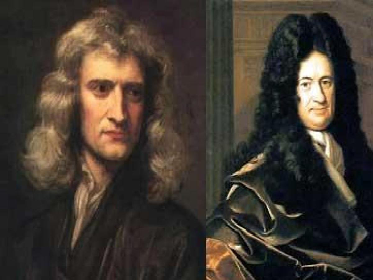 Newton and Leibniz.were co-inventors of the calculus that is essential in today's mathematical models.
