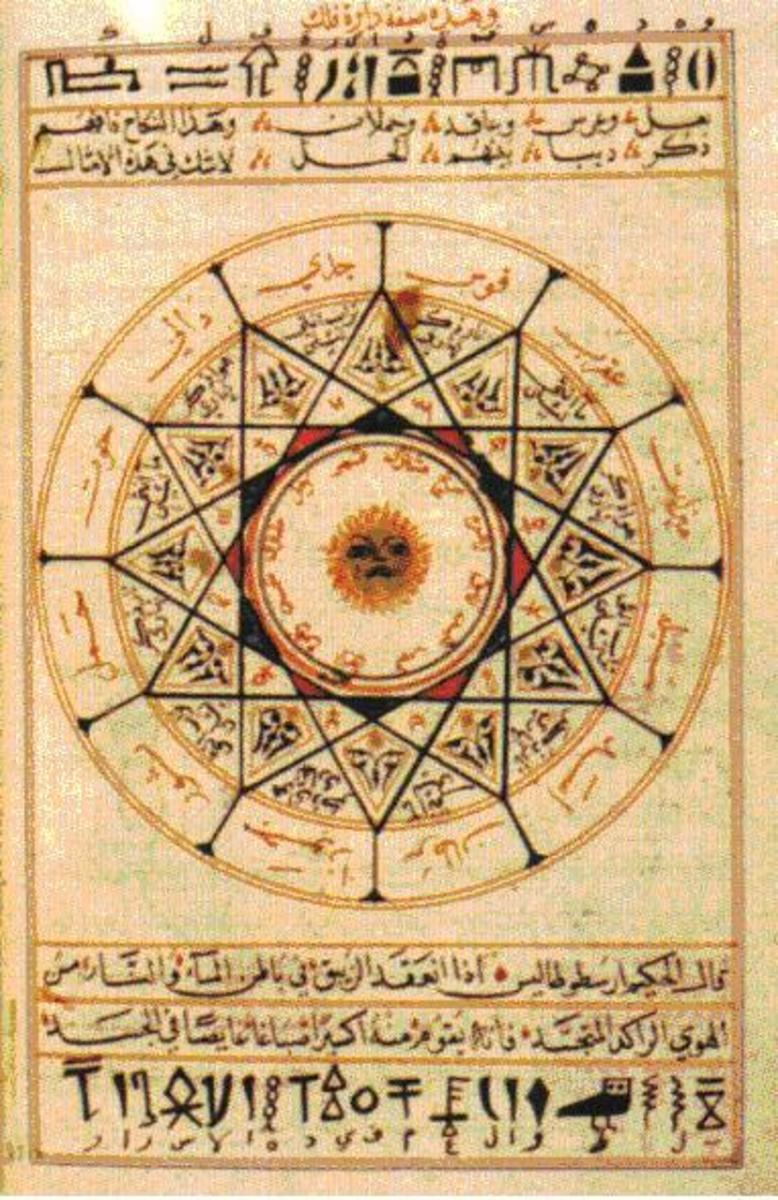 Like many other things such as algebra, alchemy was inspired from the Arabs. Newton had a secretive interest in alchemy and turned it toward our modern chemistry.