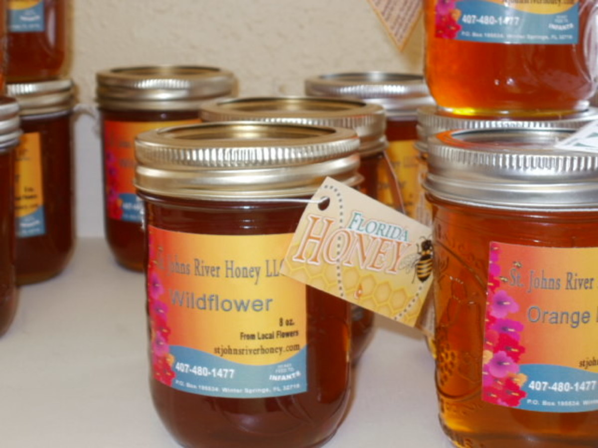 Wild Hare carries local organic honey