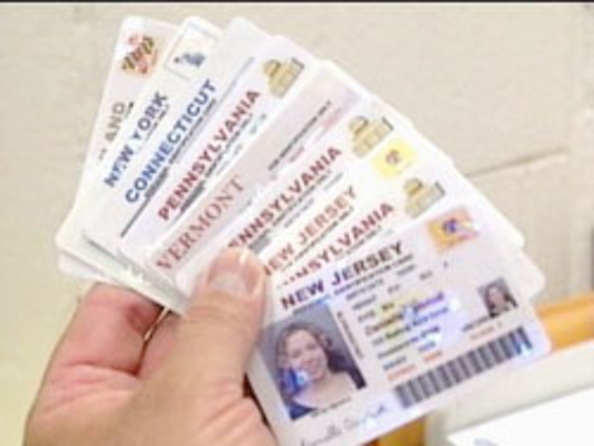 You need a fake ID? Don't buy it online!