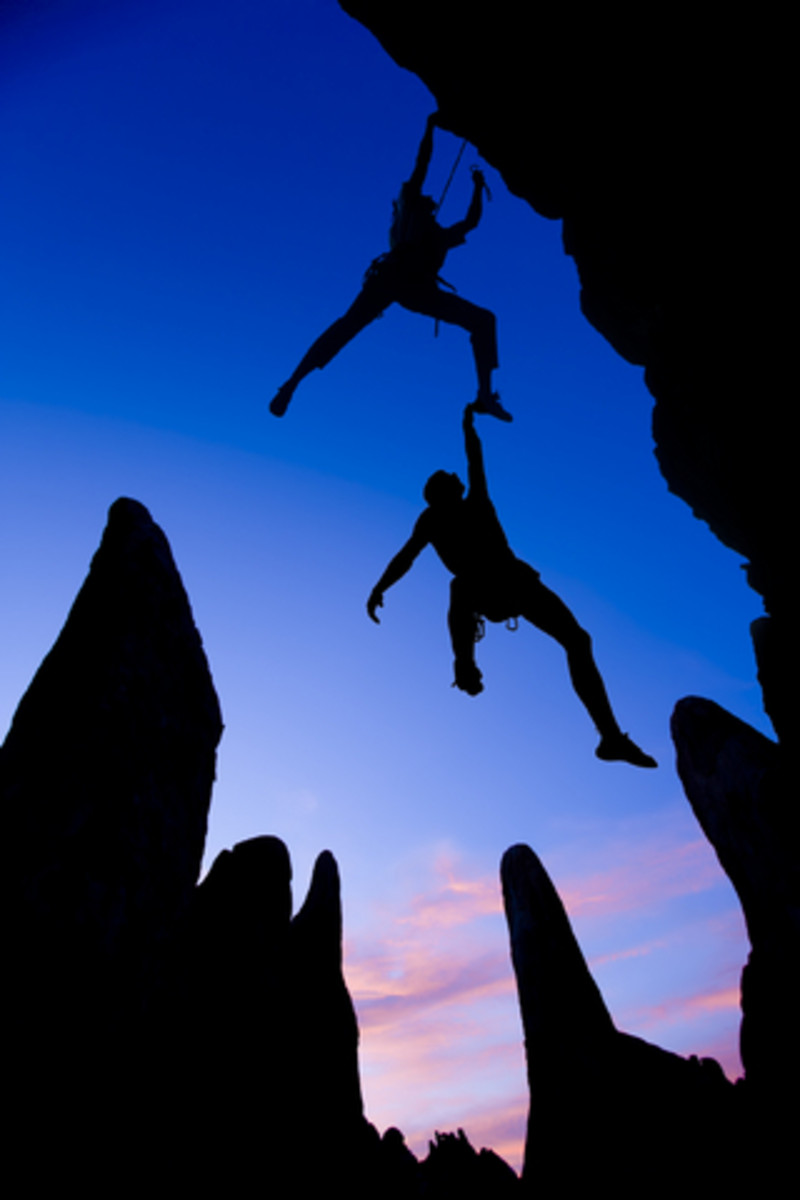 Mountain climbers face tough challengers that can turn into life changing moments.