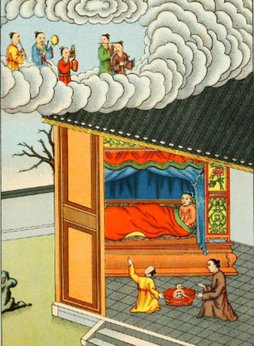 The Miraculous Birth of Confucius