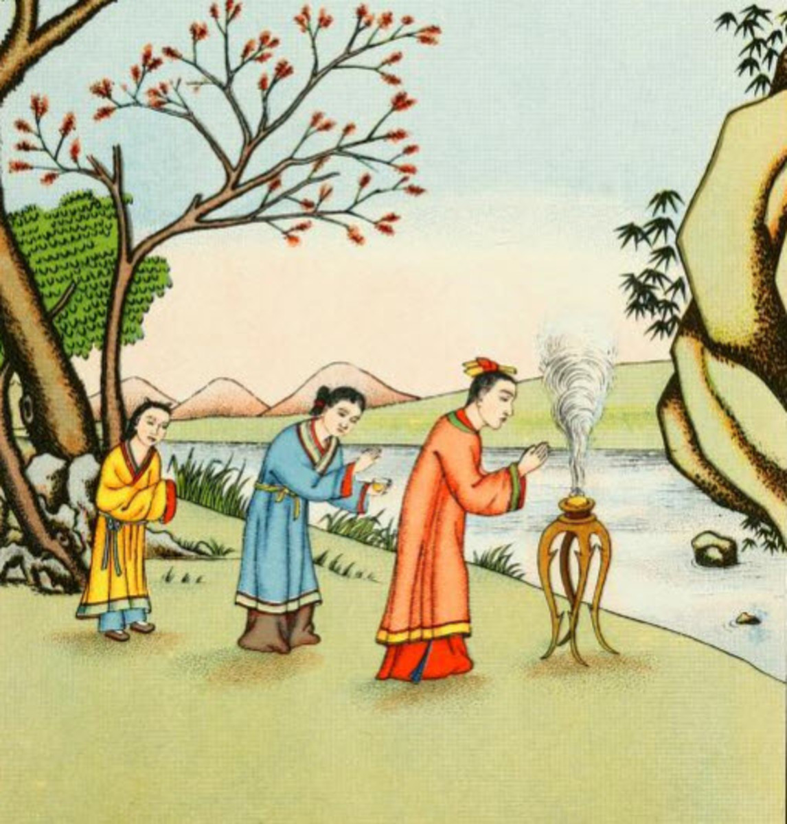 Confucius's Mother Goes on a Pregnancy Pilgrimage