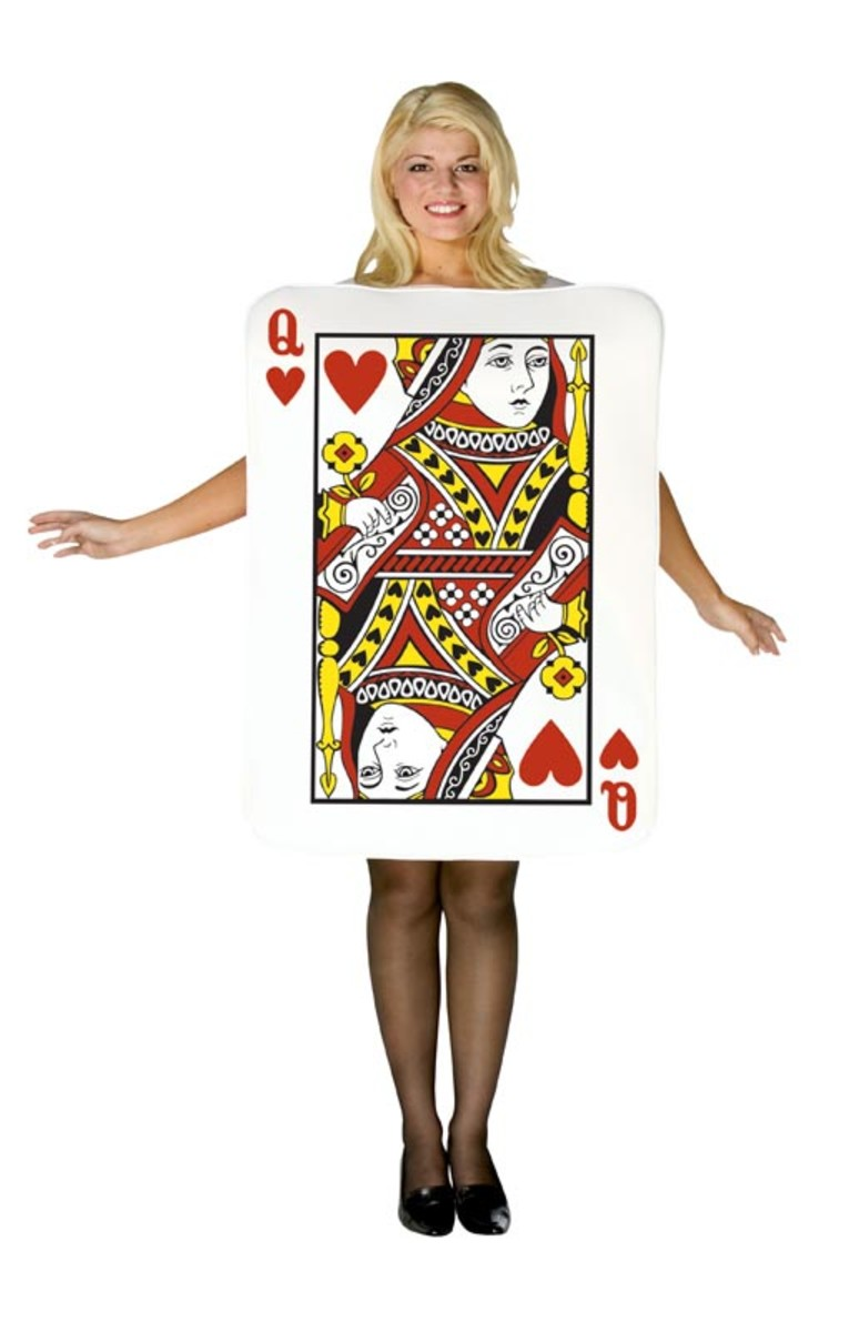 Queen of Hearts - Playing Card Costume