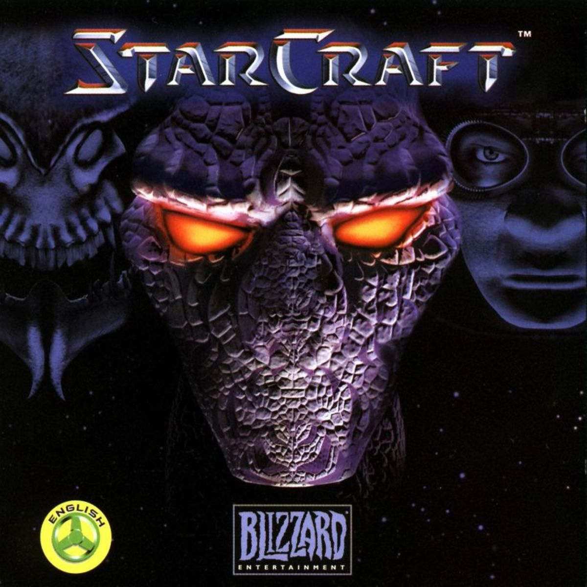 The cover of Starcraft 1