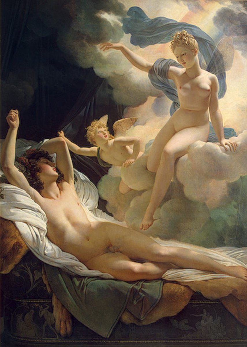 Morpheus and Iris - Pierre- Narcisse Guerin