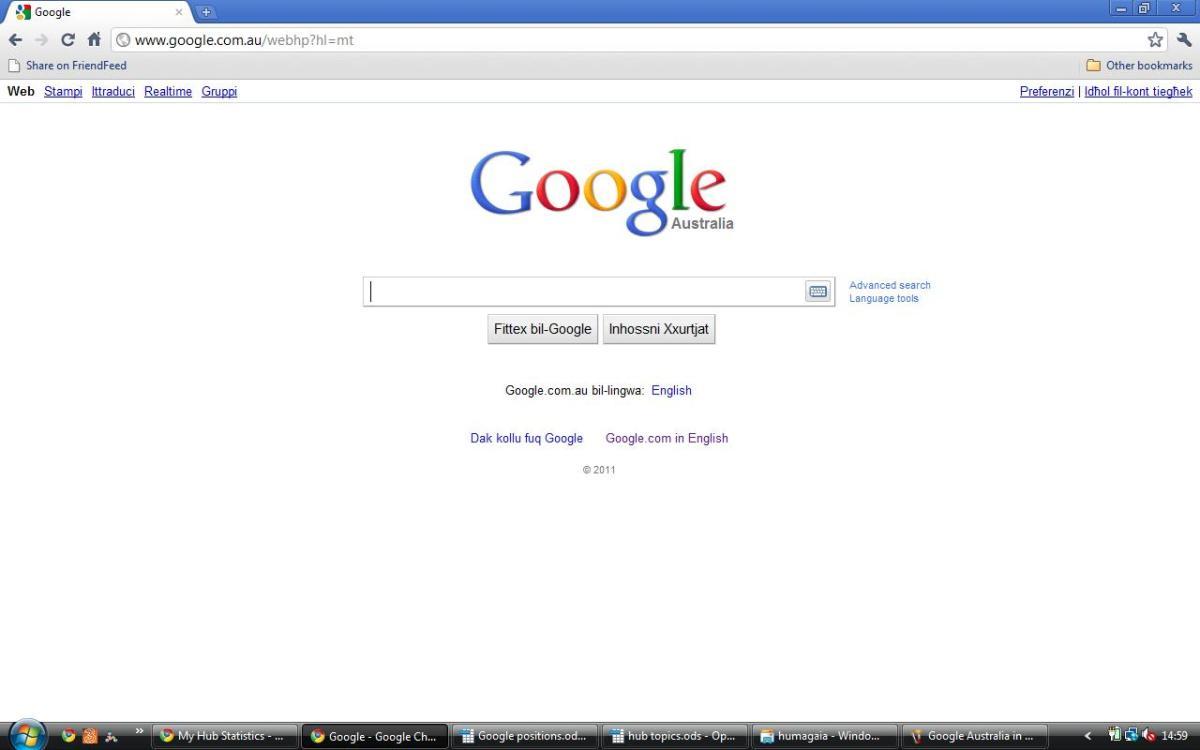 Google Australia in Maltese