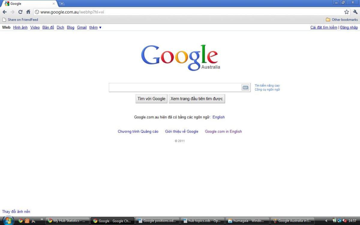 Google Australia in Vietnamese