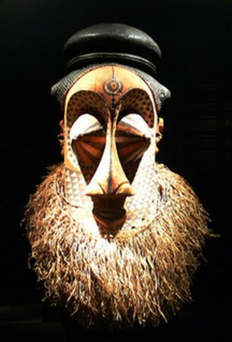 Mulwalwa African Tribal Mask