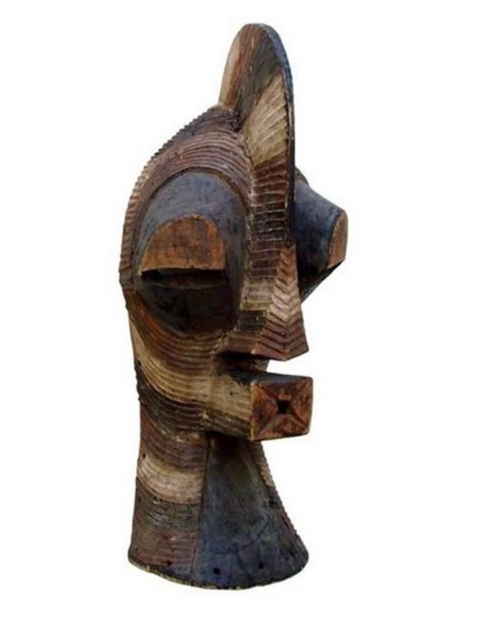 Songye Kifwebe African Mask