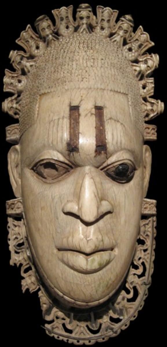 Iyoba Pendant African Masks