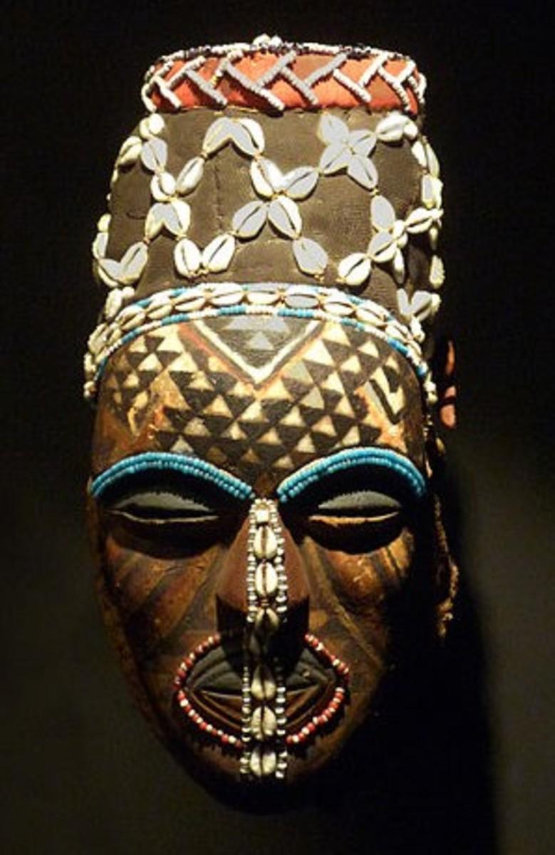 Kuba African Tribal Masks