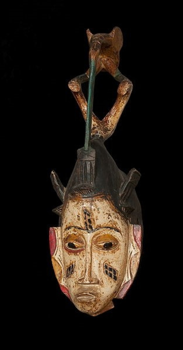 Guro Bird Mask African Tribal Masks