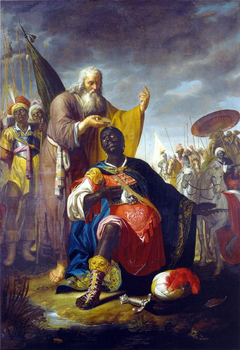 The Baptism of the Chamberlain, Abraham Bloemaert (1566-1651)
