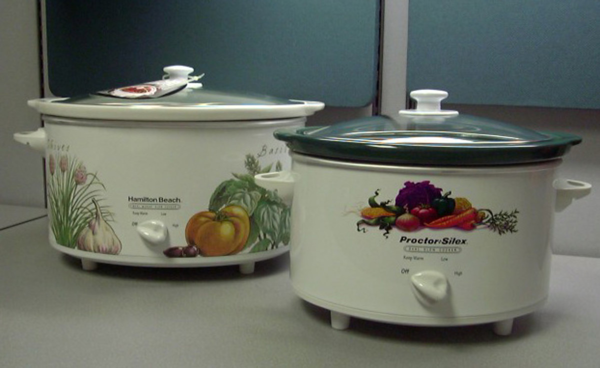 Hamilton Beach and Proctor-Silex Slow Cookers
