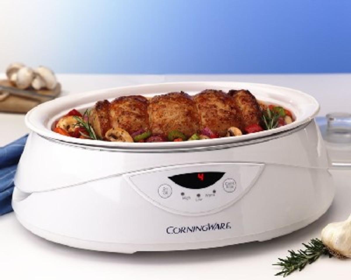 Corningware 4 Quart Slow Cooker