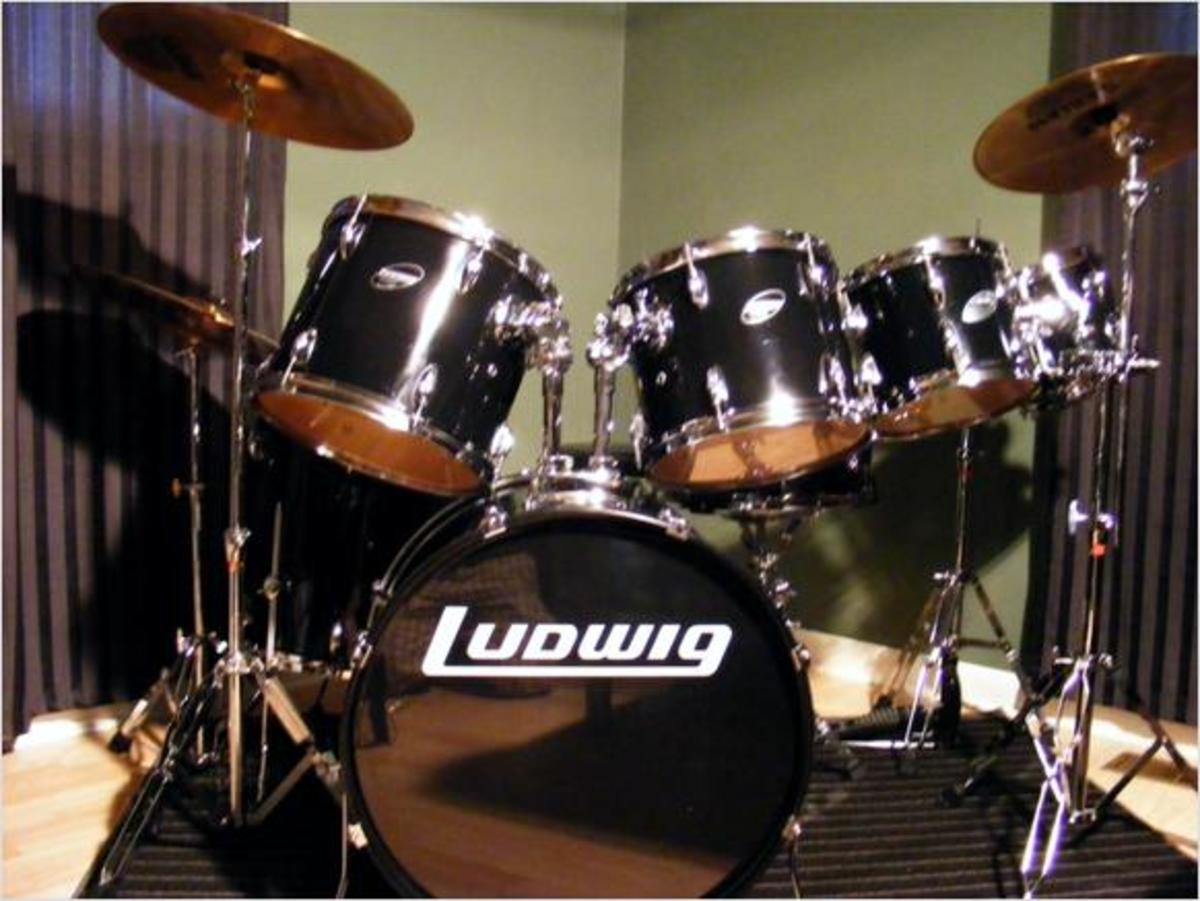 Modern Ludwig Drum Kit