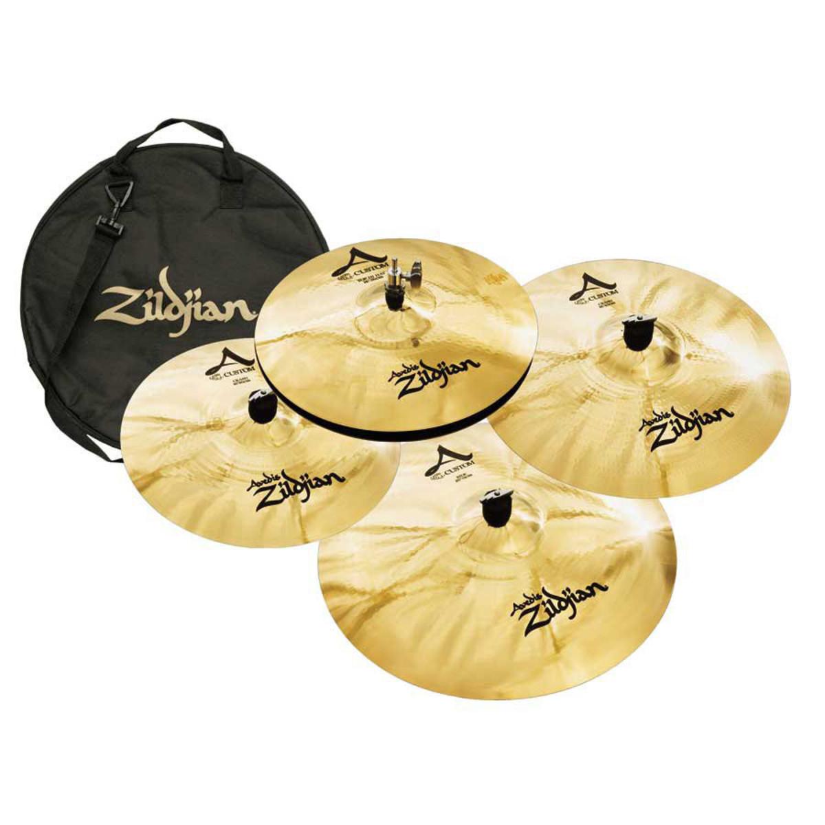 Modern Zildjian cymbals