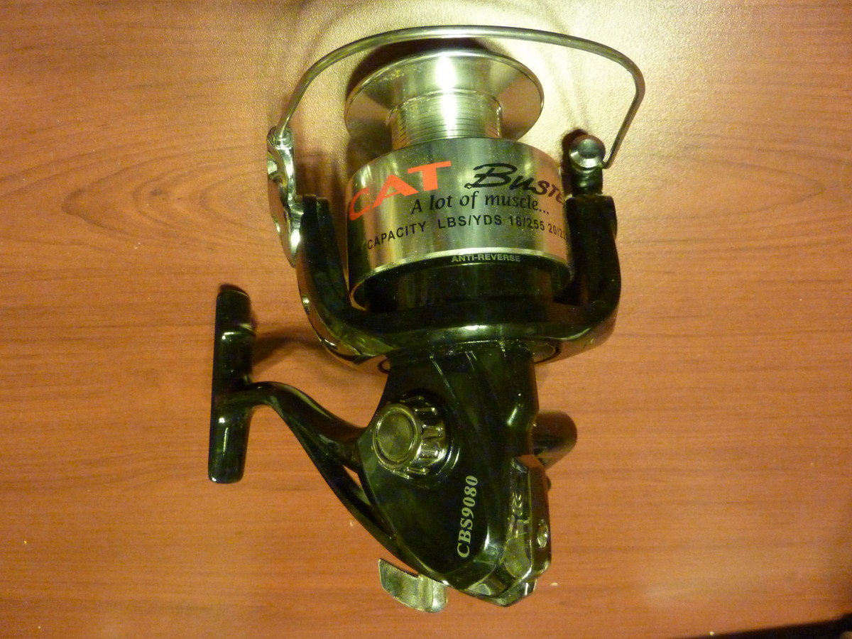 Bass Pro's Cat Buster Open Face Spinning Reel