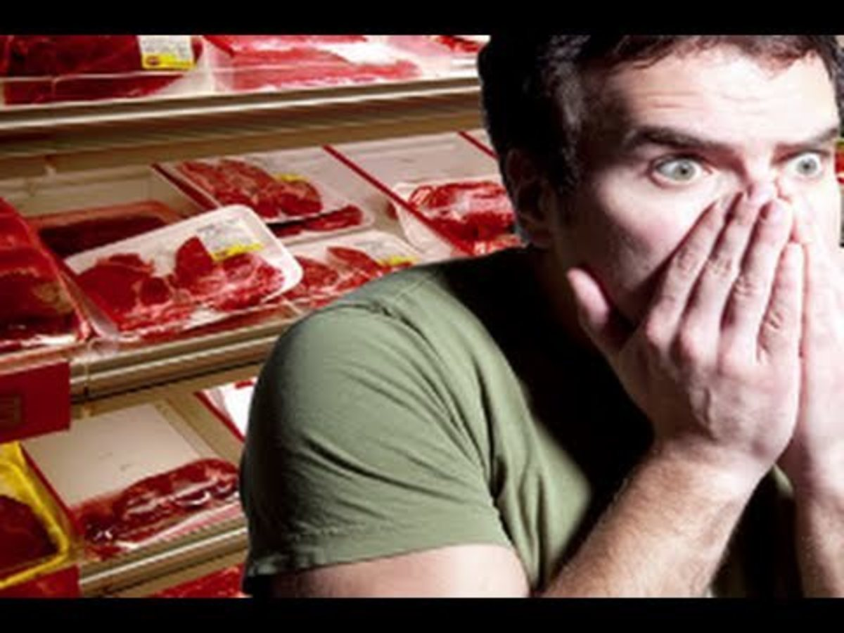 Fear of meat, carnophobia