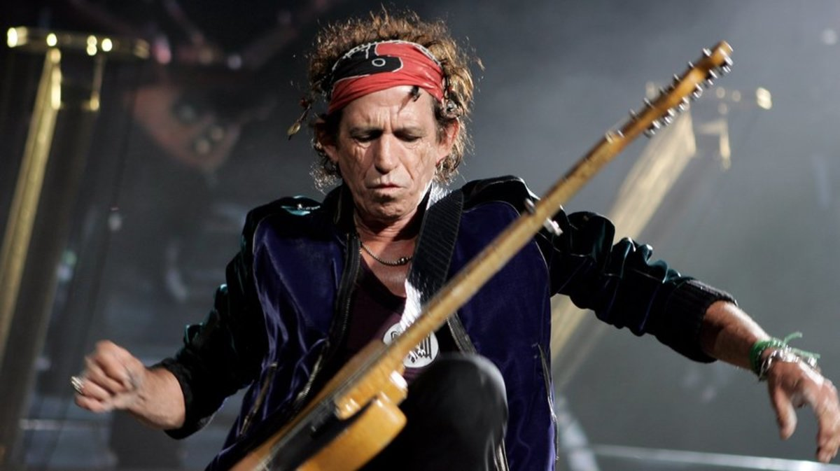 Is Rocker Keith Richards the Prince of Punk?