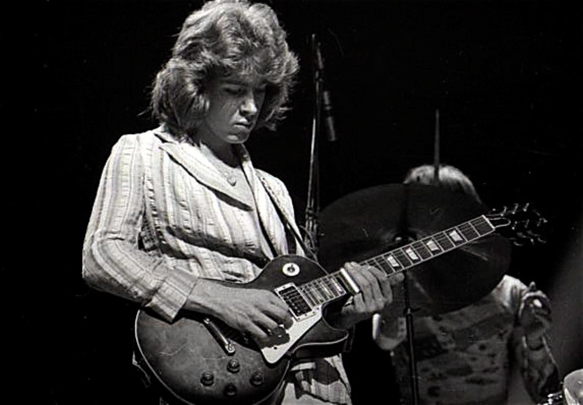 Mick Taylor in 1972