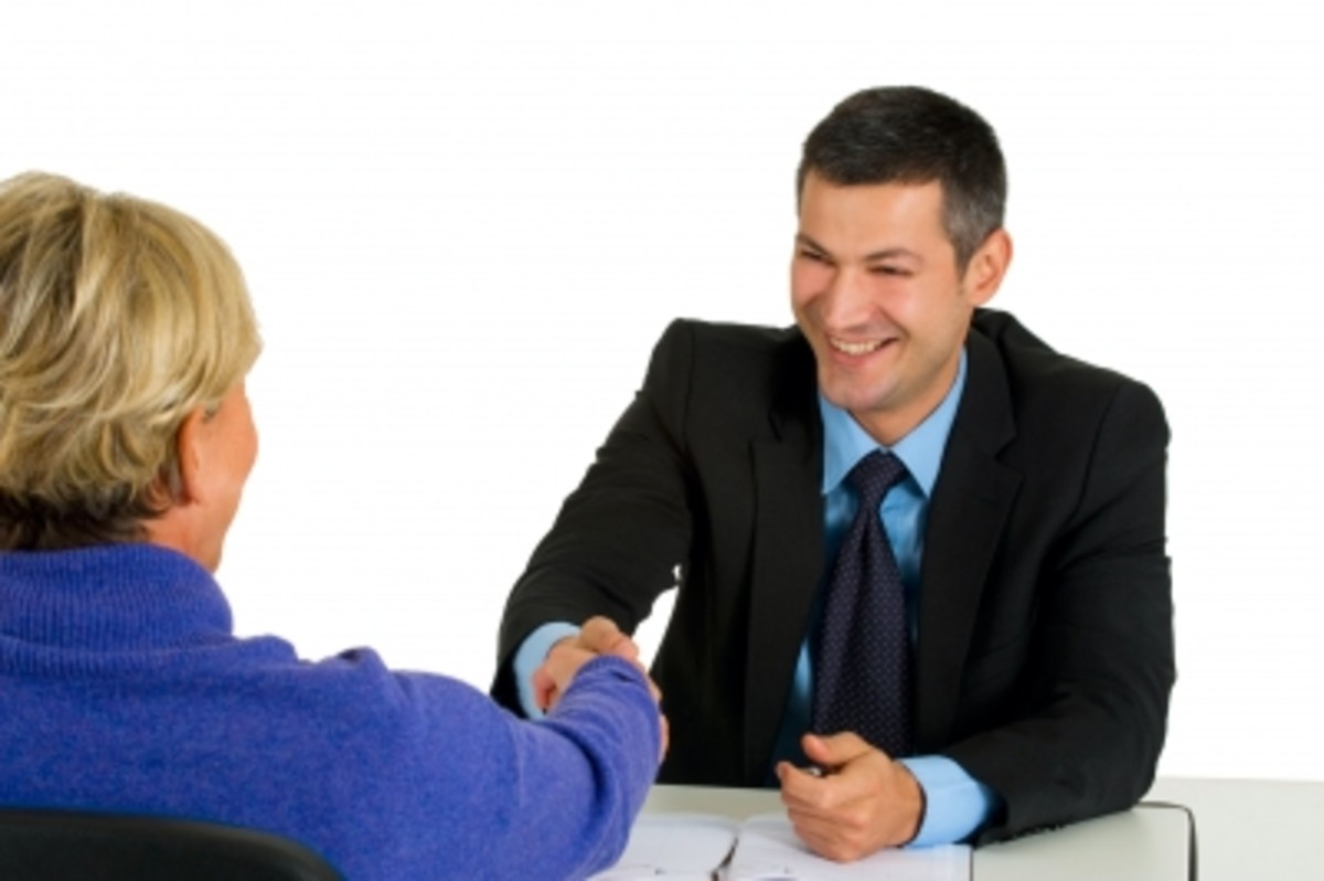 Stay calm and professional during the meeting with your tenant
