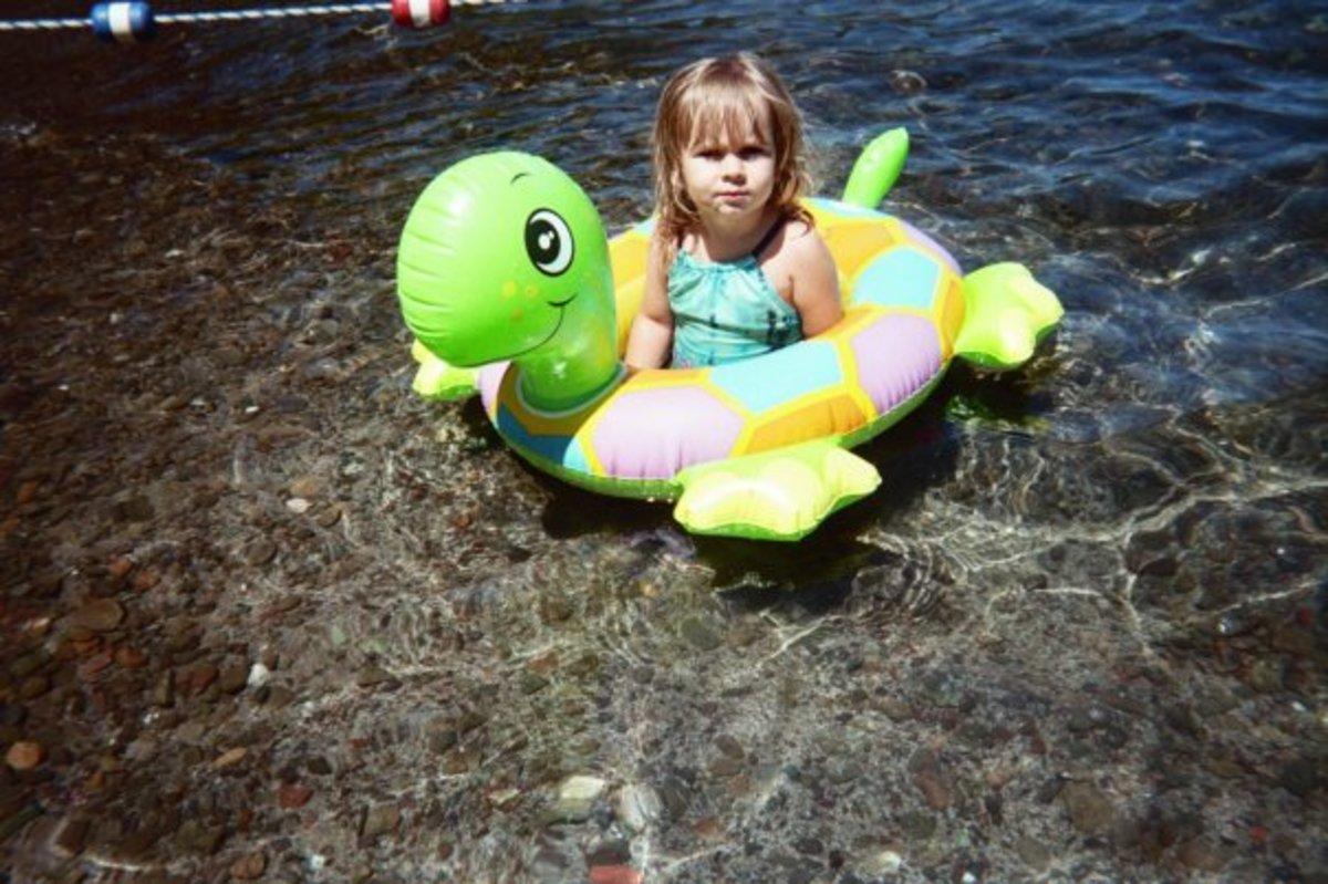My niece Mackenzie