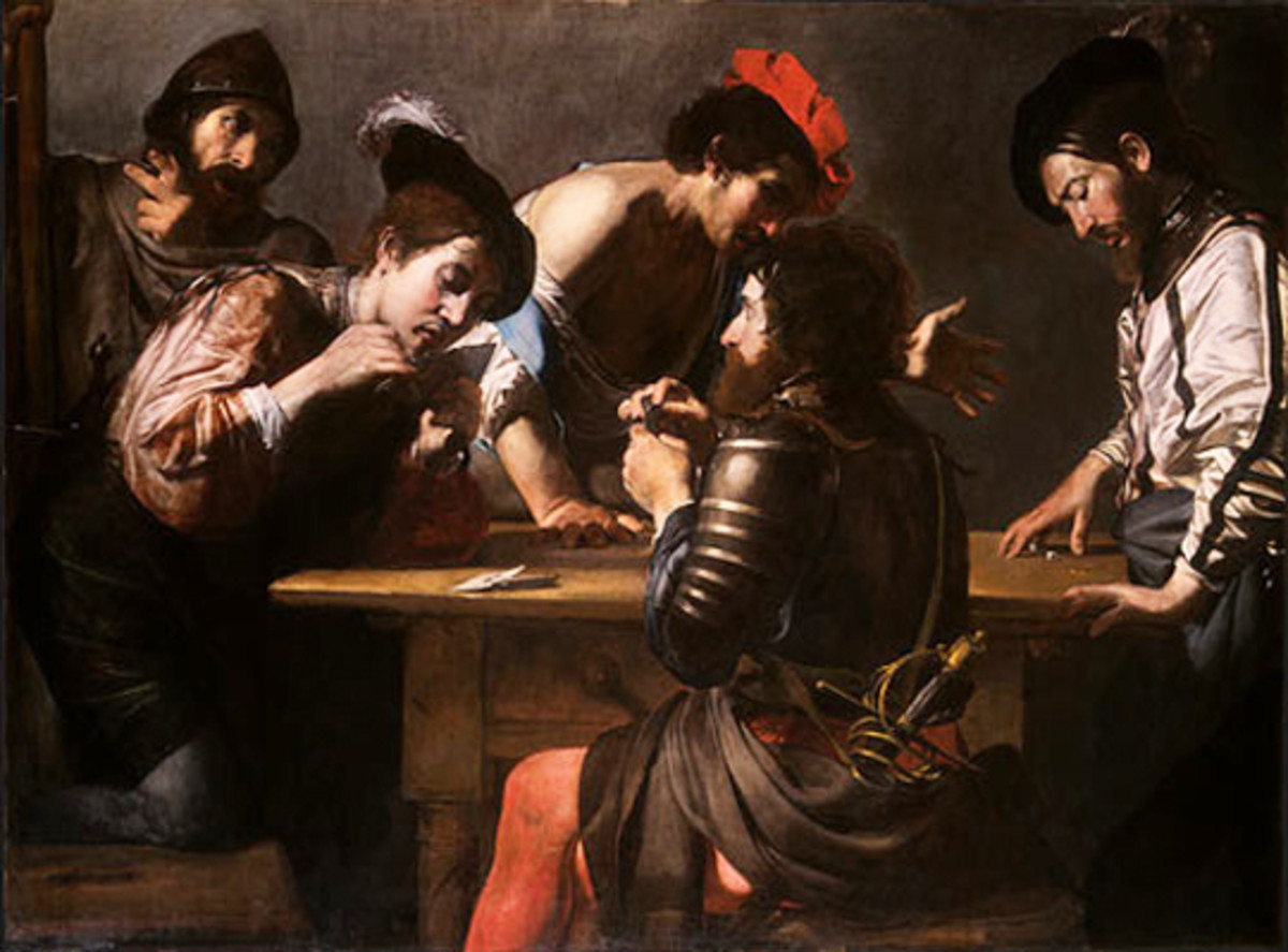 The Card players- Maler Lucas van Leyden