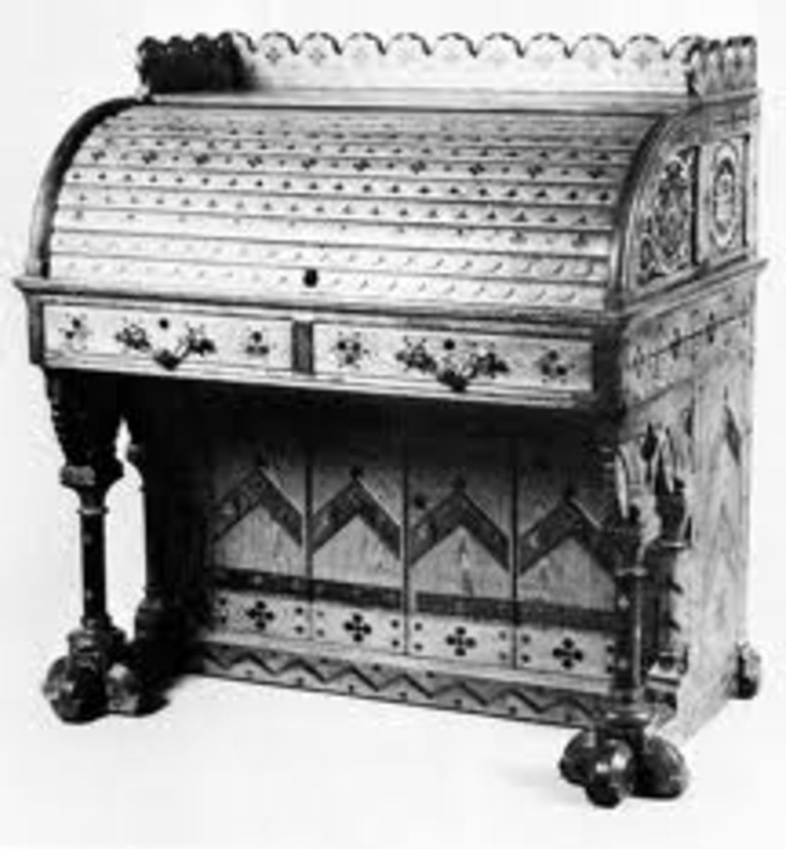 1827 Roll Top Desk