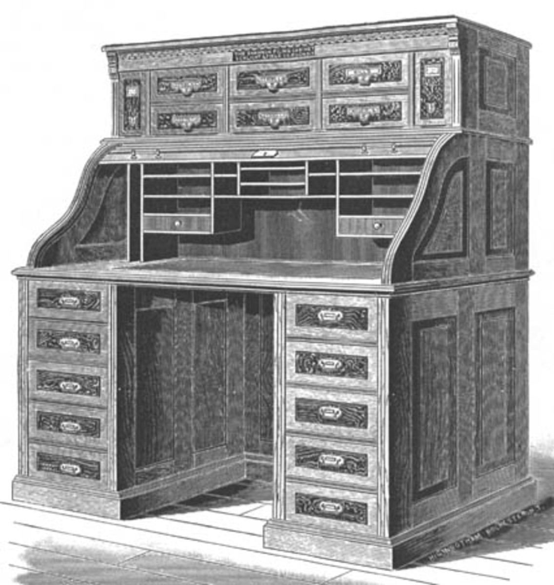 What You Need to Know About Buying a Roll Top Desk