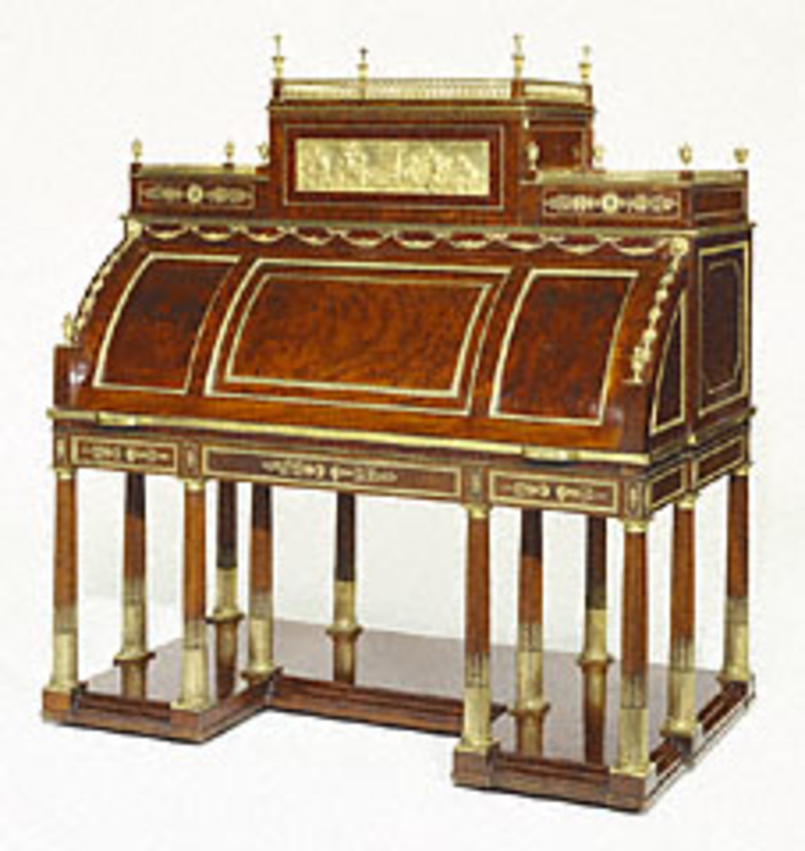 Neoclassical Roll-Top Desk