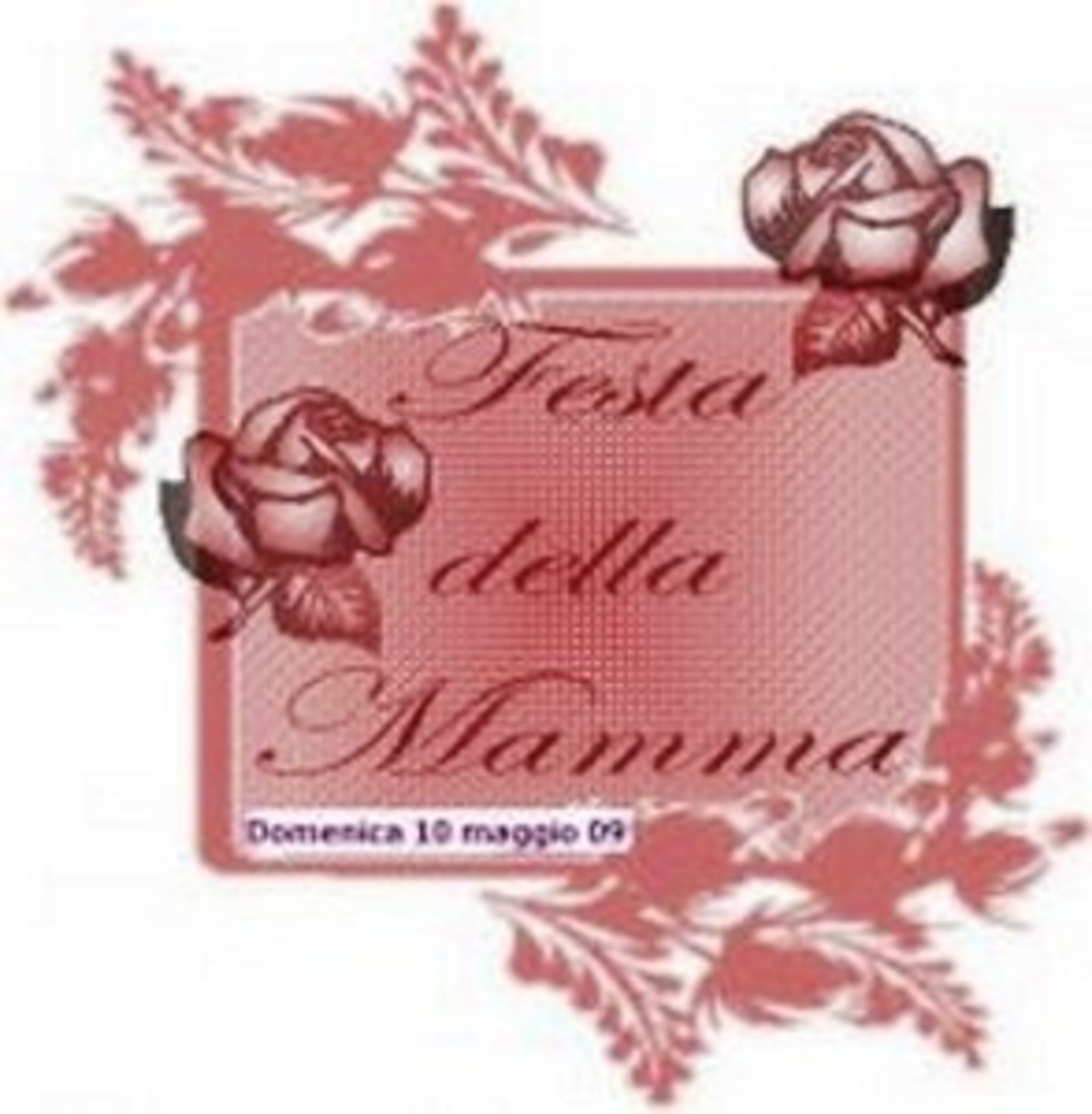 Happy Mothers Day card in Italian - When is Mothers Day?