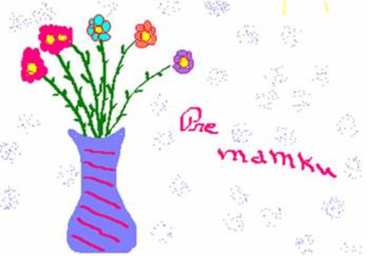 Happy Mothers Day card in Slovak - When is Mothers Day?